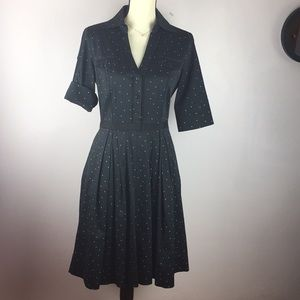 White House Black Market Dress Black Size 8